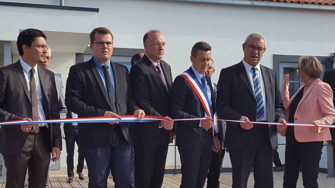 Inauguration ce matin de la Salle Culturelle des Magnils-Reigners