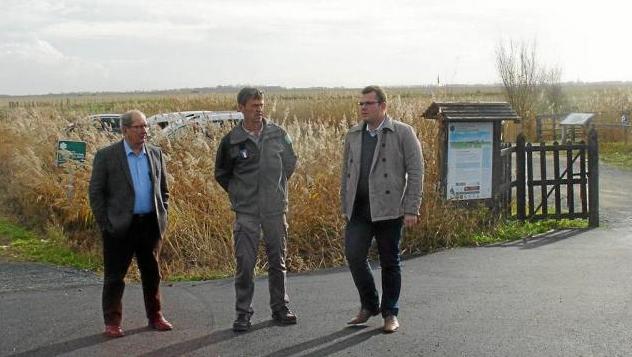 Vidéo : Saint-Denis-du-Payré, sécurisation de l'accès à la réserve naturelle