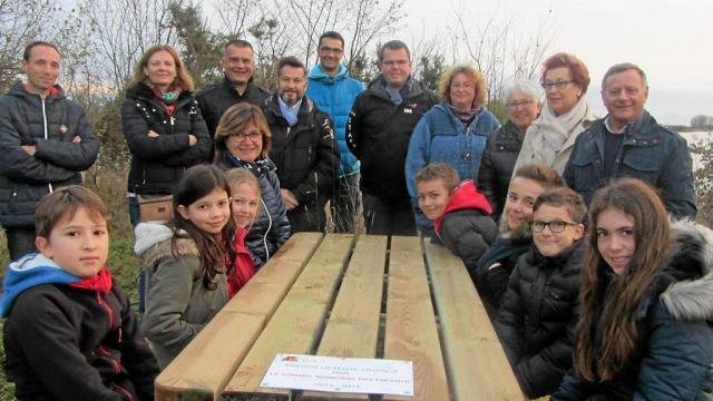 Un des projets des petits conseillers municipaux de la ville de Luçon