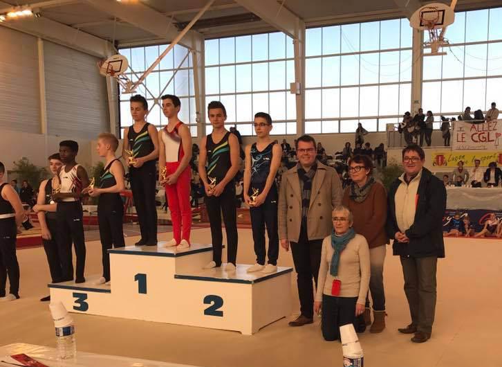 Championnat de Gym de Vendee Luçon Arnaud Charpentier