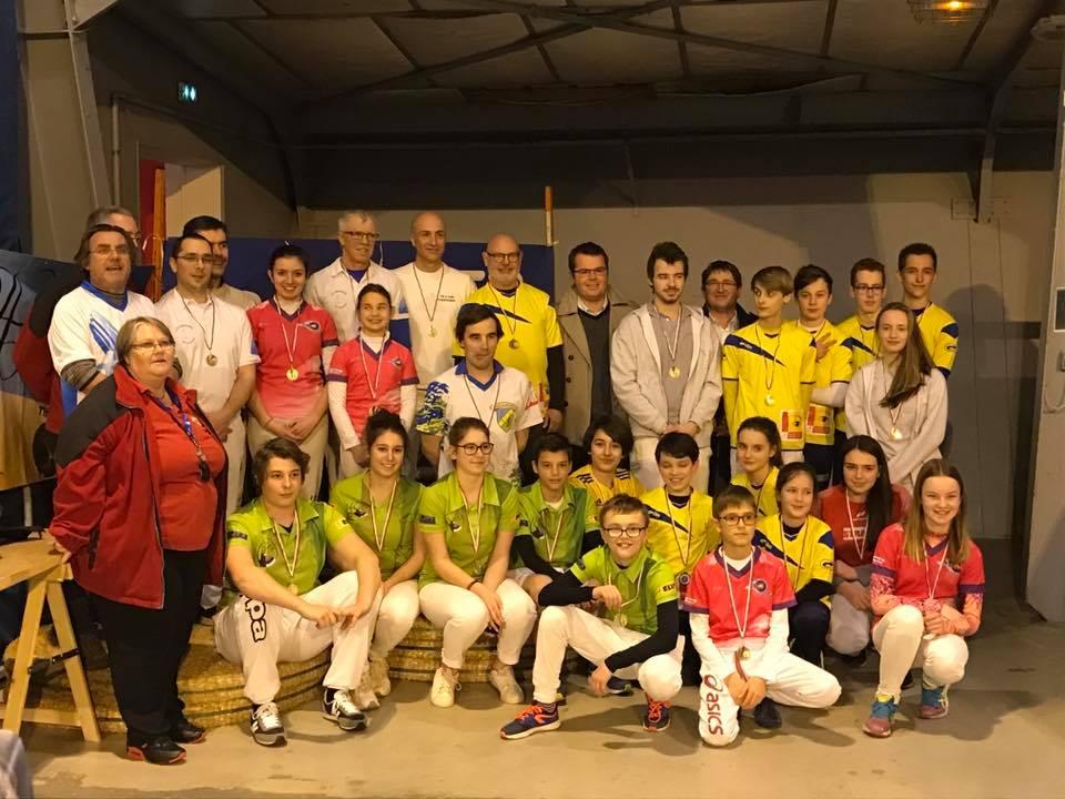 Sports Luçon Remise de prix par Arnaud Charpentier