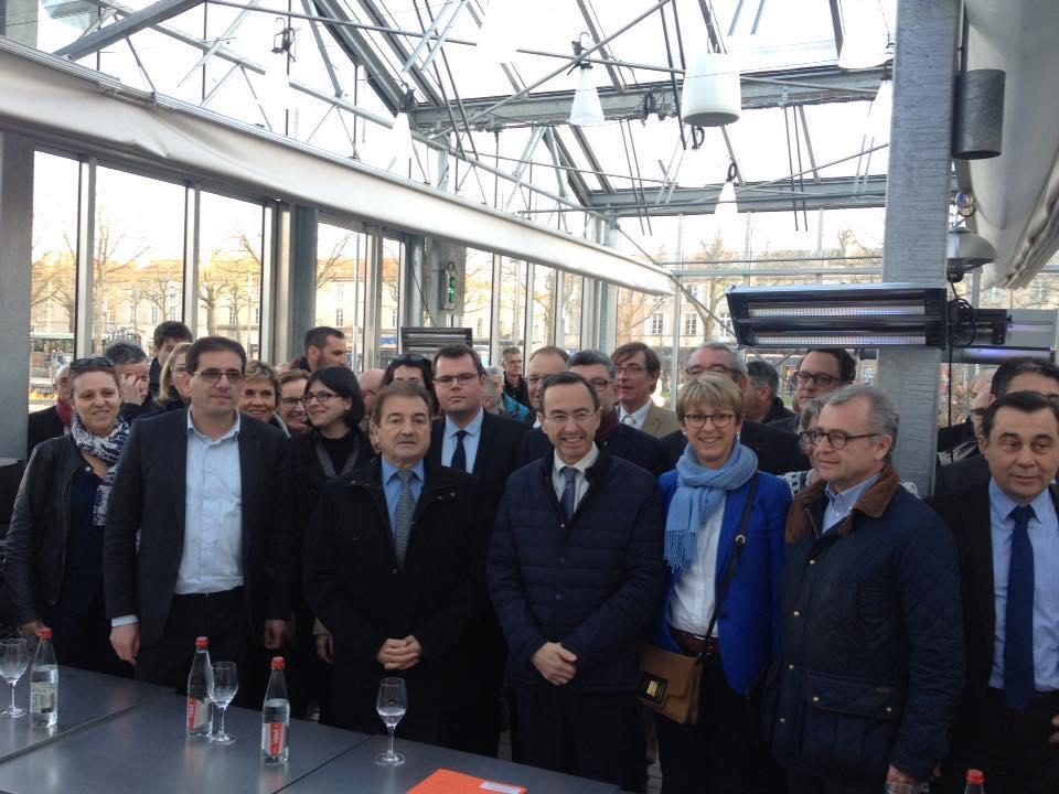 Conférence de presse pour le comité de soutien de François Fillon en Vendee