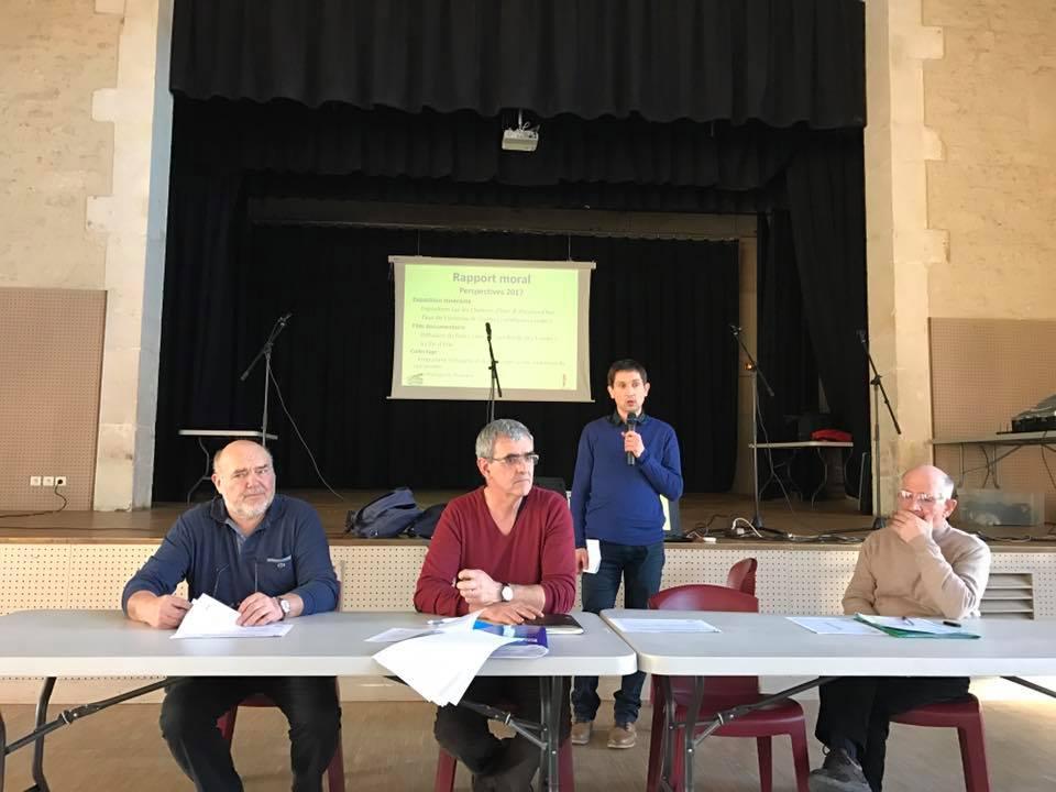 Arnaud Charpentier à l'assemblée générale de Dactrad