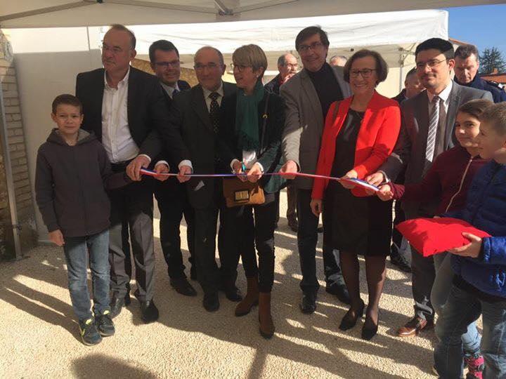 Arnaud charpentier à Inauguration de la salle des fêtes de la commune de st Gemme la Plaine