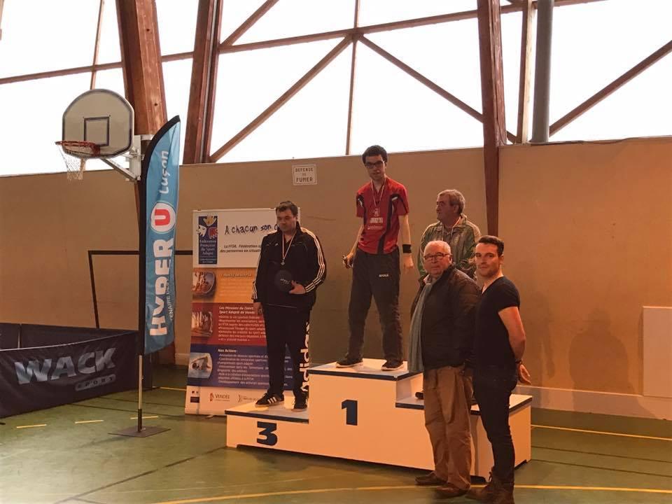 remise des prix du concours de sport adapté et Handisport à Luçon