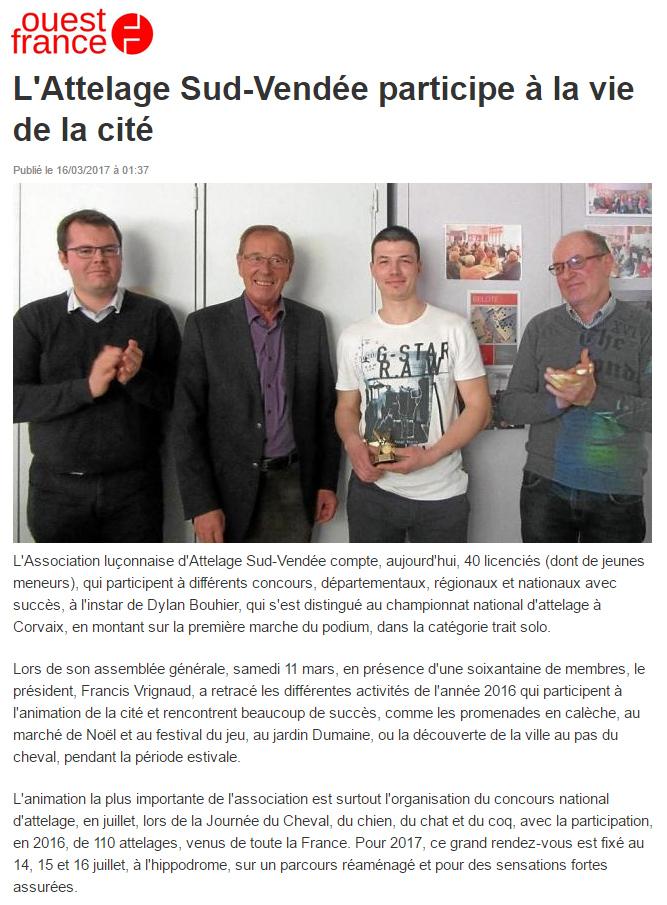 Arnaud Charpentier Attelage Sud-Vendée