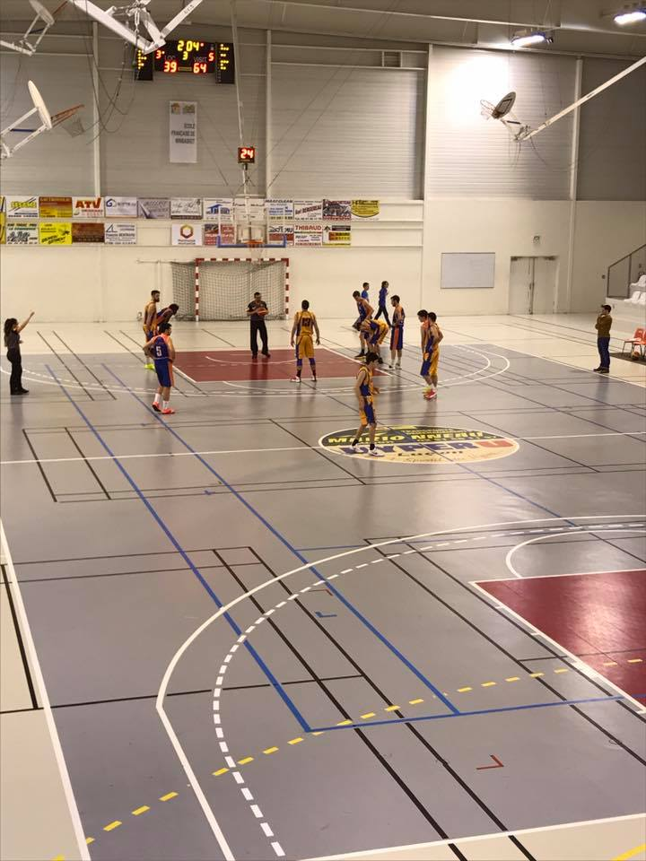 Basketball Lucon - Angers