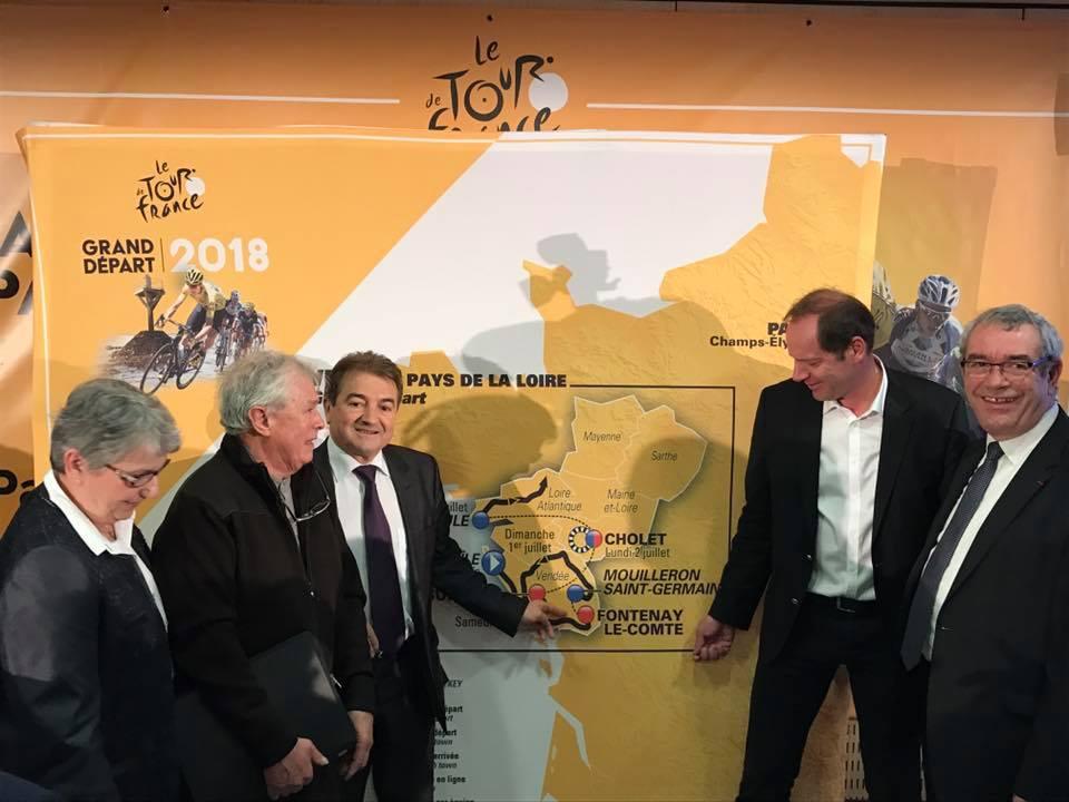 conférence de presse de présentation des 1ères étapes du tour de France 2018